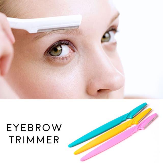Pisau Cukur Alis Eyebrow Razor Trimmer alat potong kecantikan make up thumbnail