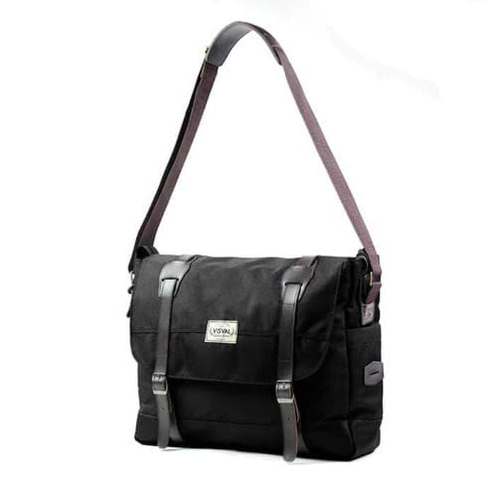 BELI Tas Kerja Kuliah Selempang Laptop Pria Massive Sling Bag Branded Mur 6a1db95f9e