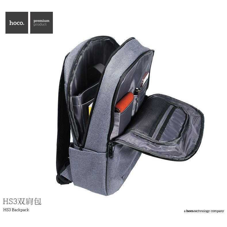 BELI Hoco Tas Ransel Laptop Leisure Style Fit To 15 Inch - HS3 0eccd6fe1c