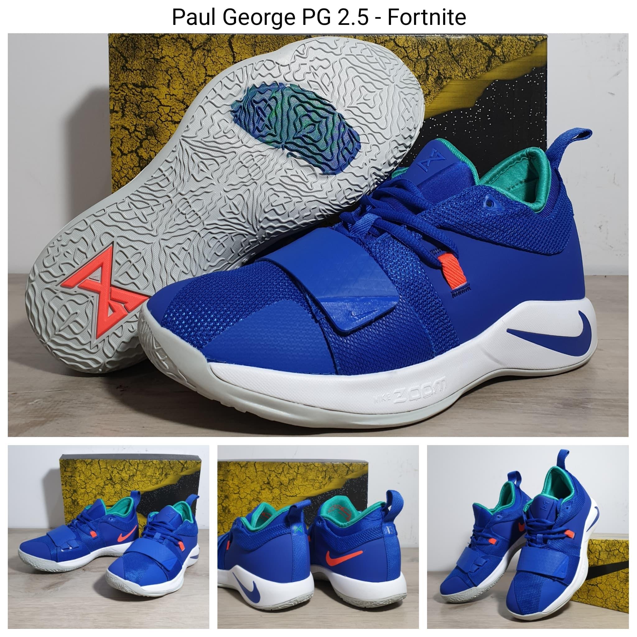 huge discount 08a32 228a2 Jual Sepatu Basket Nike Paul George 2.5 Fortnite (PG 2.5 ...