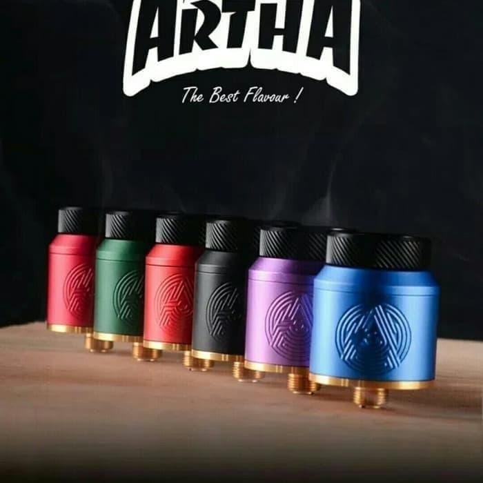 MURAH RESTOK ARTHA RDA AUTHENTIC 24mm design by FATRIO ADVKEN VAPOR VAPE V c13e3037ff