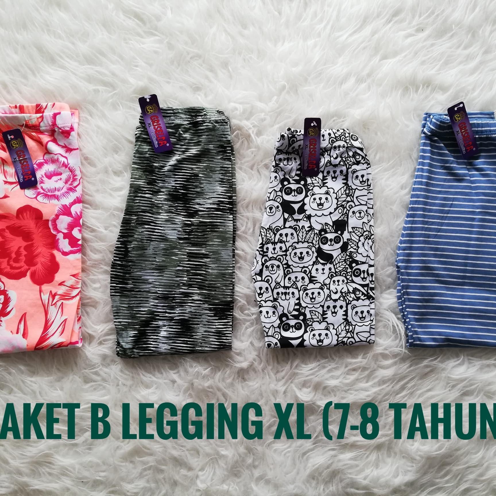 PENAWARAN Paket B Celana Legging Anak 7-8 Tahun f5b8a32d53