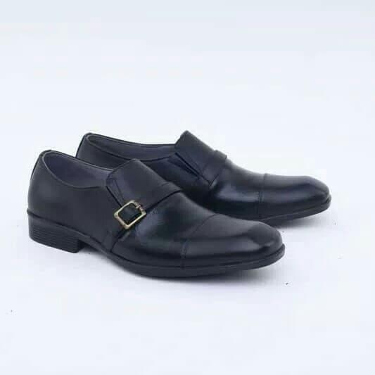 HEMAT kulit asli super-sepatu kerja pria kantor hotam formal peatavGRS 18ef6c559a