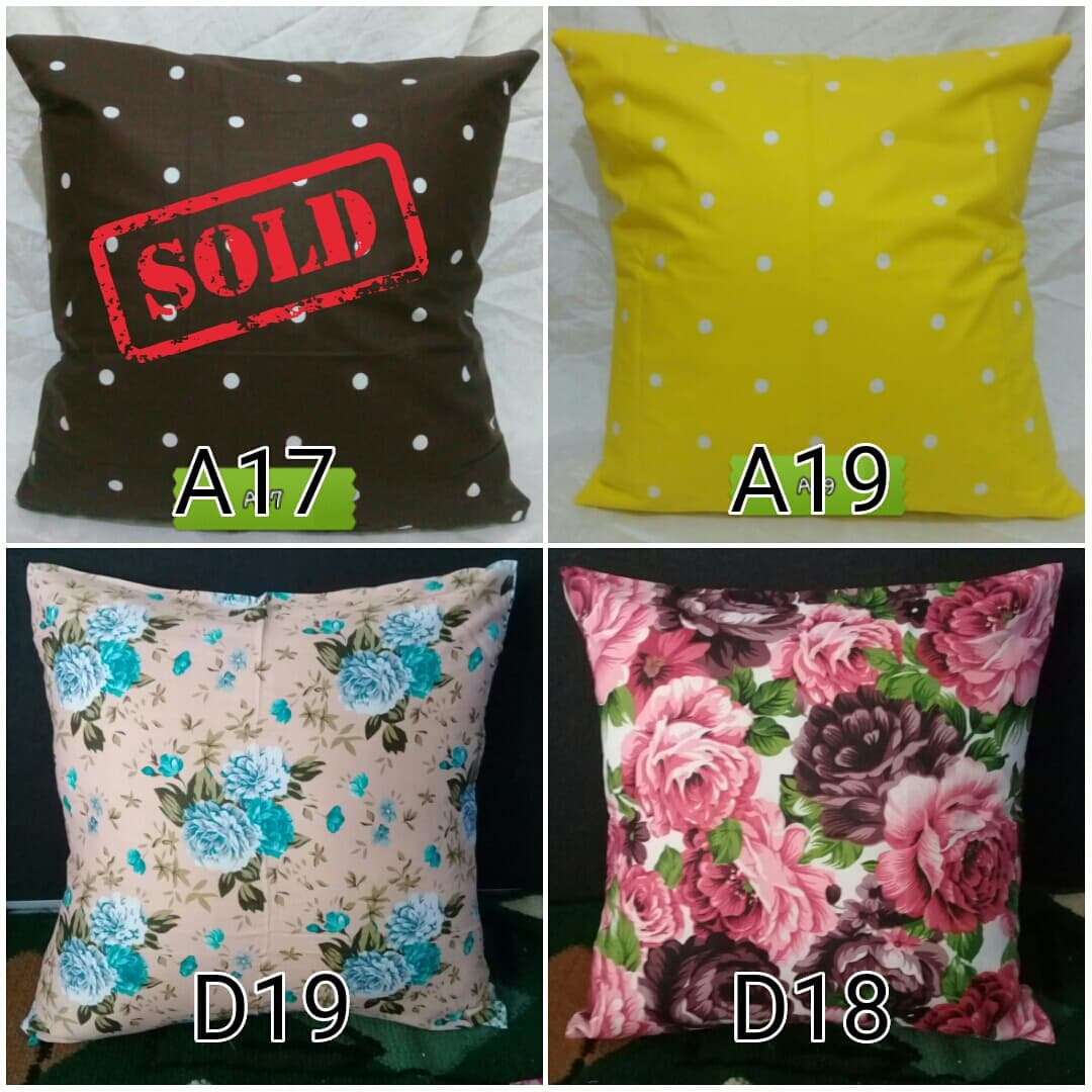 PENAWARAN Sarung bantal sofa Cushion cover 40x40cm 2 009b31c535