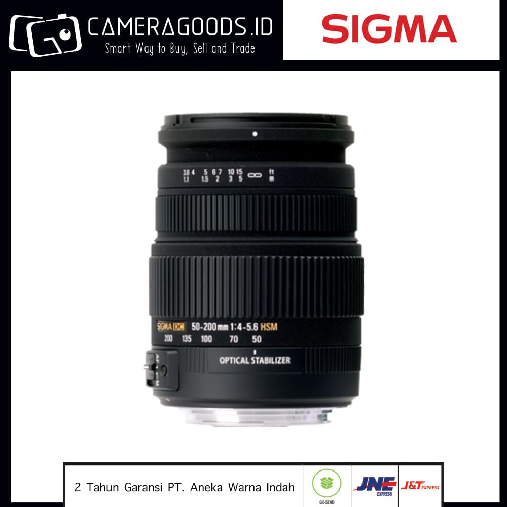 Jual ( Camera Goods ) Sigma 50-200mm F4-5 6 DC OS HSM