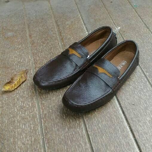 PENAWARAN Sepatu Dr. Faris Navan Original Kulit Asli Slip On Pria Casual  Formal db9fd0a23b