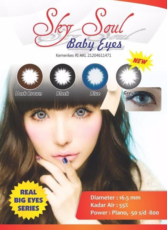 BELI Top Seller Softlens Sky Soul Baby Eyes Terimakasih 3fa0419b47