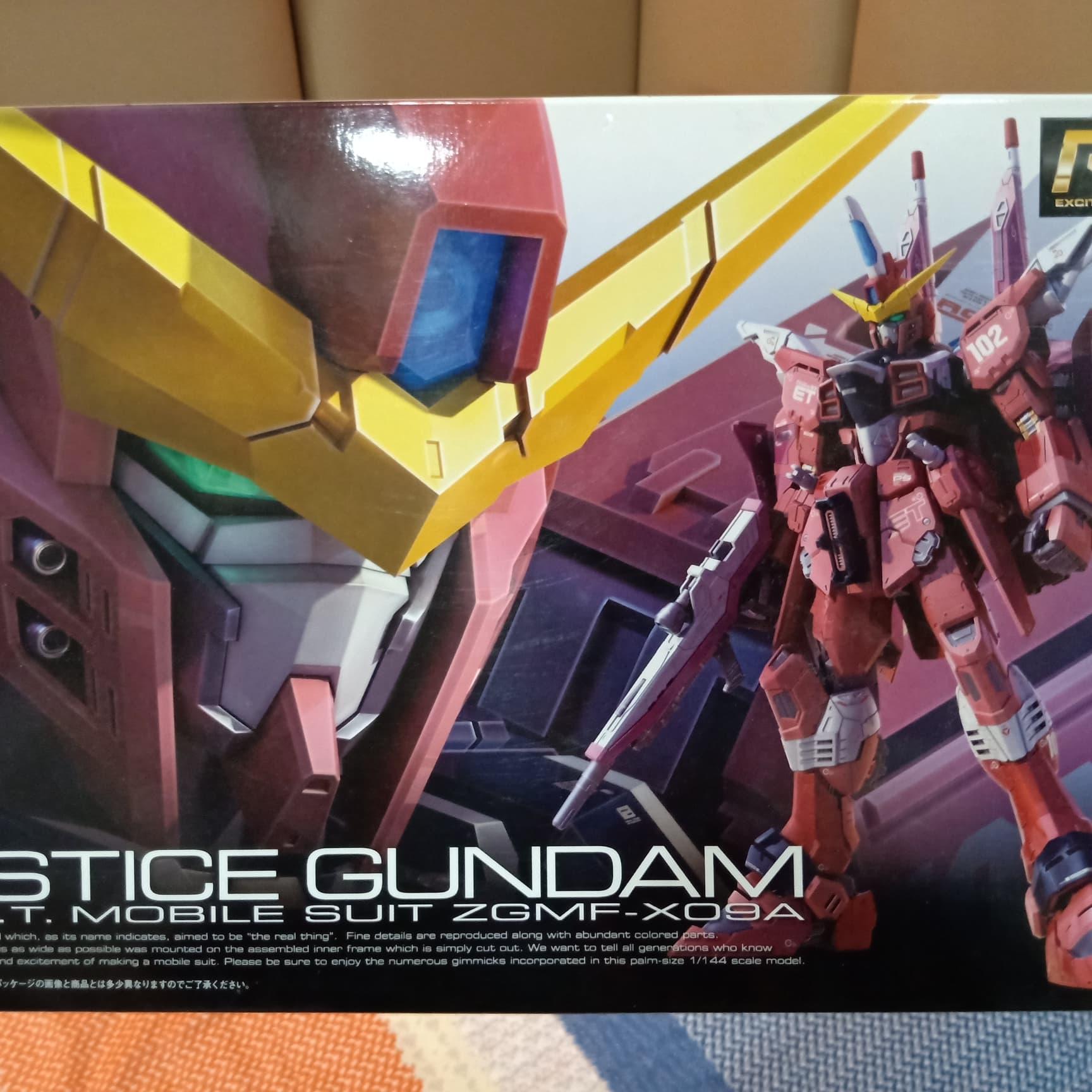 Jual RG 1/144 Justice Gundam - Robby's Garage Sale | Tokopedia