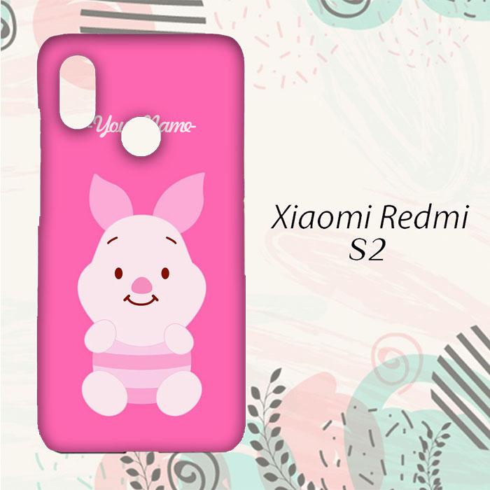 BELI Casing Xiaomi Redmi S2 Custom HP Piglet Name Simple L0234 551b4b5b7a