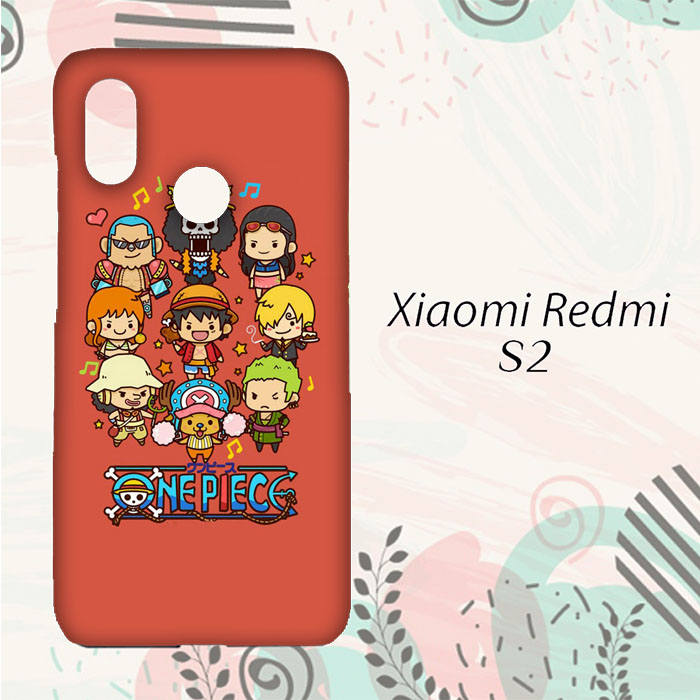 DISKON Casing Xiaomi Redmi S2 Custom HP One Piece Cartoon L0228 fb71b05d24