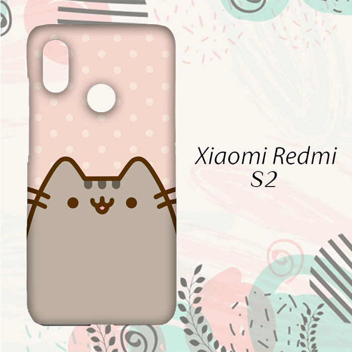 MURAH Casing Xiaomi Redmi S2 Custom HP Pusheen Cat L0237 d7756bcbd3