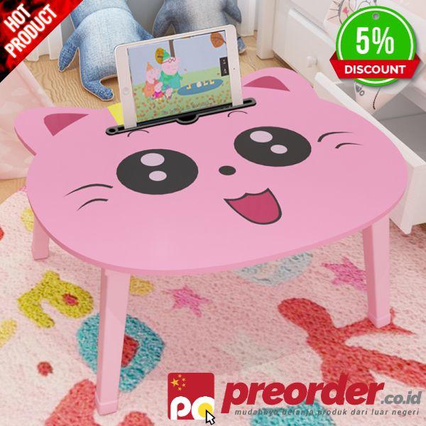 MURAH Portabel Lipat Kartun Laptop Meja Tempat Tidur Sofa Meja Anak-anak 66842abb03