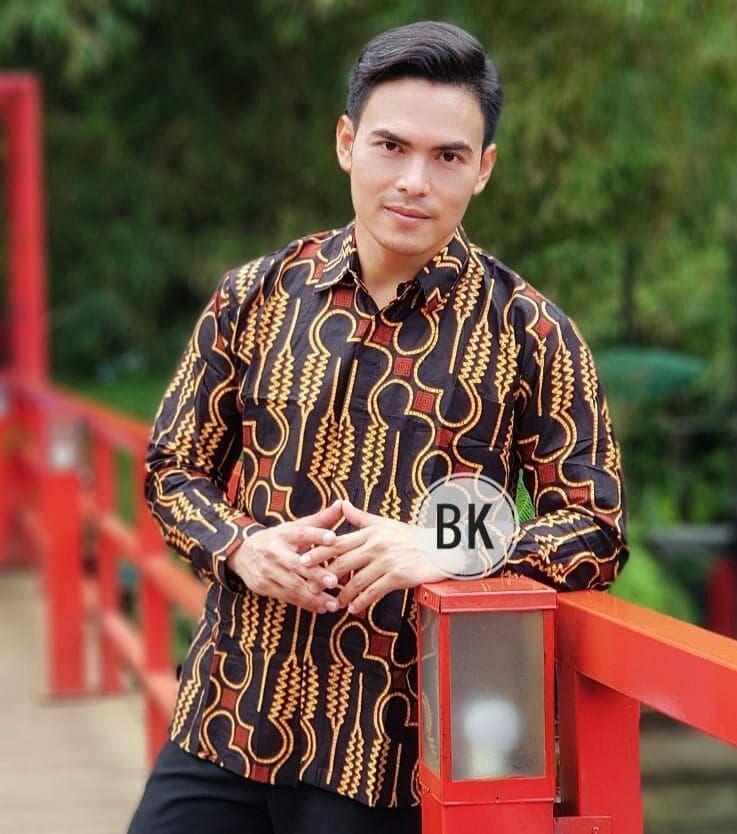 Jual Kemeja Batik Pria Gradation Panjang Slimfit | Baju Batik Murah - Batik azka collection |