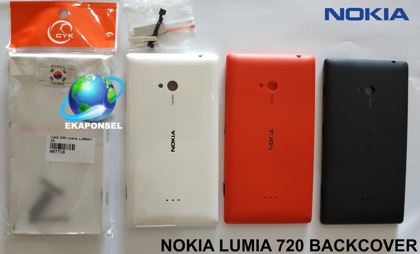 quality design 3fb60 bf3c4 Jual NOKIA LUMIA 720 BACKCOVER ORIGINAL CHINA - Kab. Rokan ...