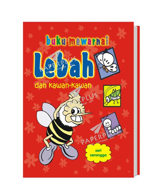 Jual Buku Mewarnai Seri Serangga Lebah Kota Tangerang Selatan