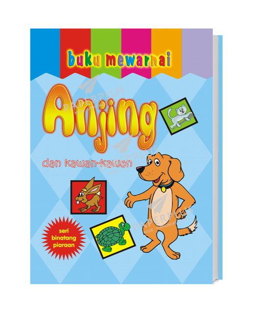 Jual Buku Mewarnai Binatang Jinak Anjing Paperplus Tokopedia