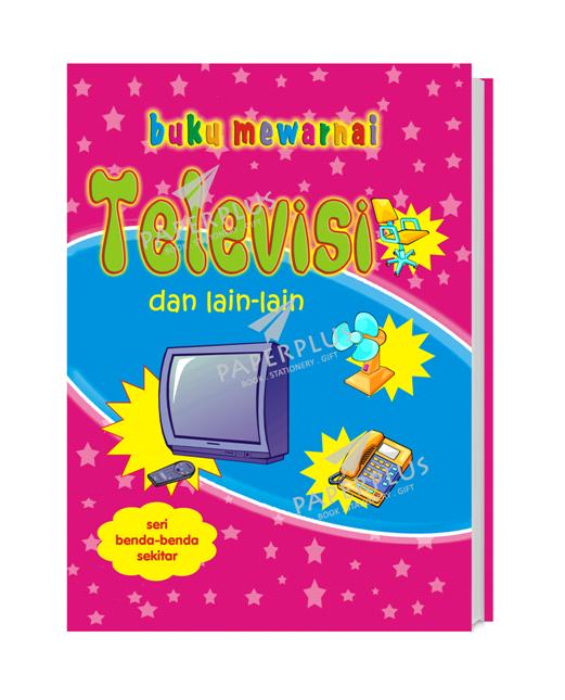 Jual Buku Mewarnai Benda Benda Sekitar Televisi Paperplus Tokopedia