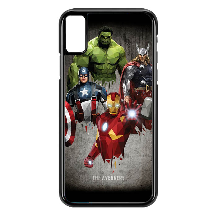41c5d9c5d91 HEMAT Hardcase Custom iPhone XS Max The Avenger O0261