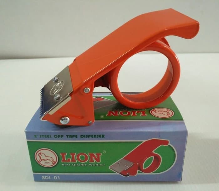 MURAH baru LION Tape Dispenser 2 Inch SDL-01  03118c580c