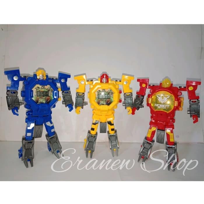 BELI Murah Jam tangan anak laki mainan anak kado mainan jam robot b86febb974