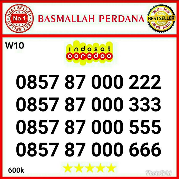 Nomor Cantik IM3 Double triple 000333 0857 87 000 222 RW12