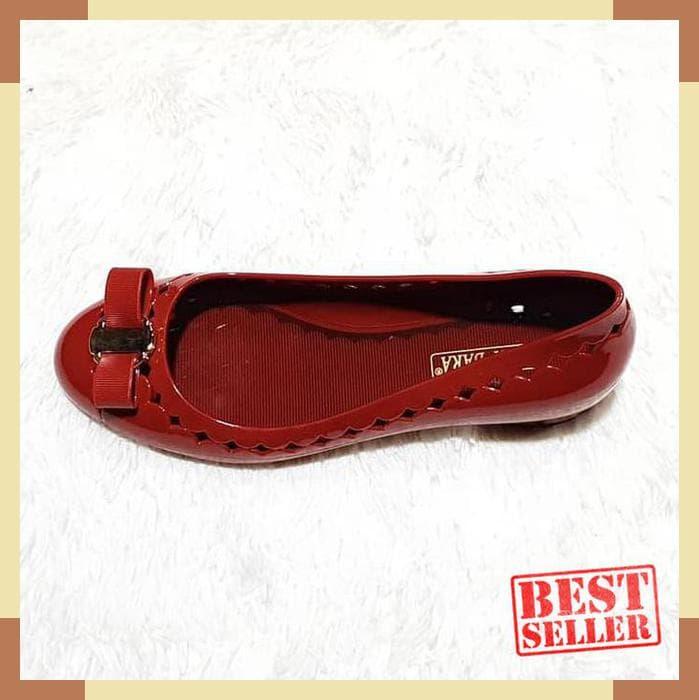 MURAH jelly shoes bara bara sepatu wanita import heels karet bbf002 ... fbd81366f8