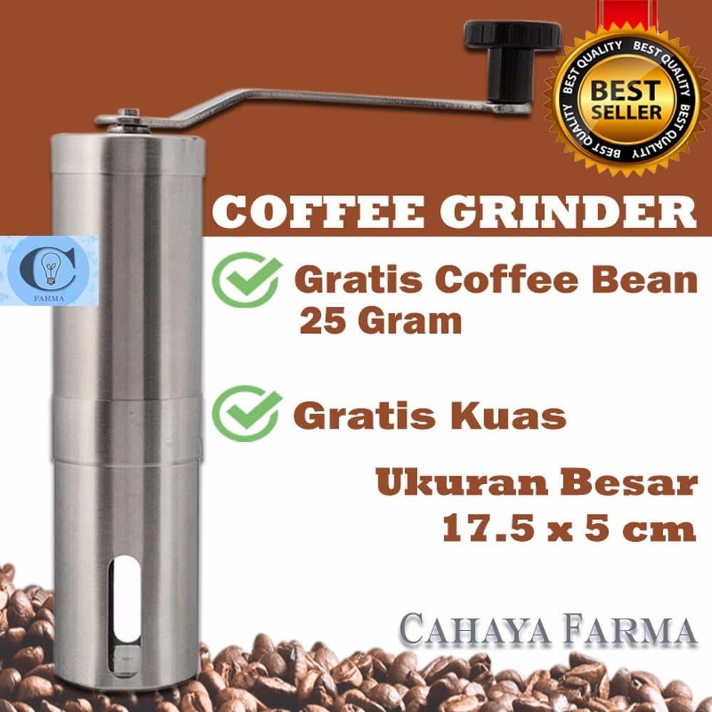 MURAH Coffee Grinder Hand Mill Grinder Manual Coffee Maker ...
