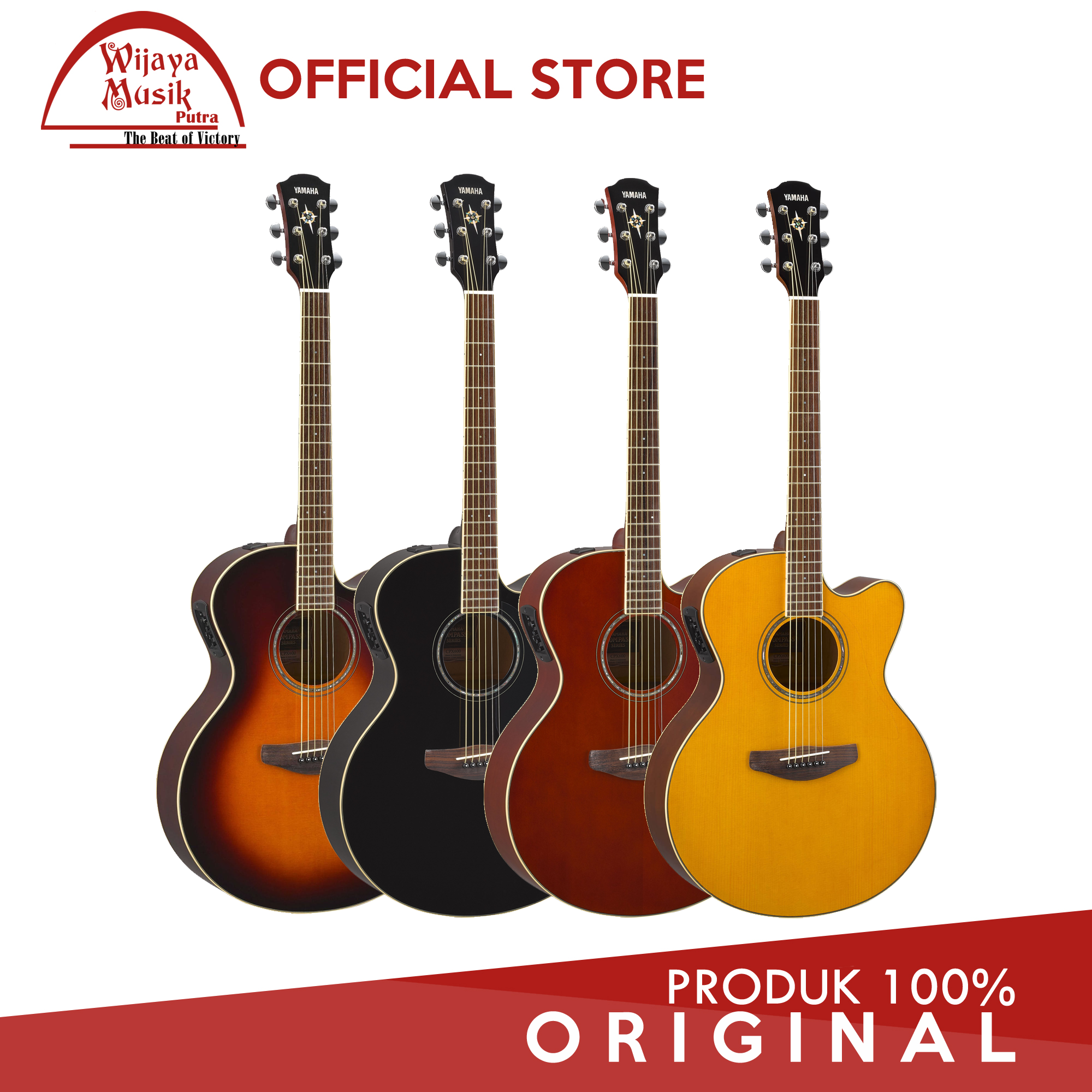 Jual Yamaha Gitar Akustik Elektrik CPX 600 CPX600