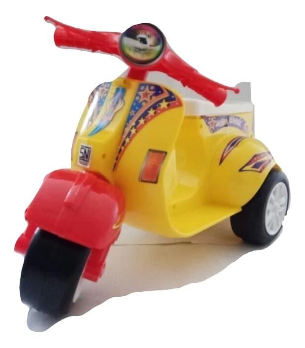 Jual Mainan Anak Vespa Mini Vc 162 Multicolor Ride On Blanja Com