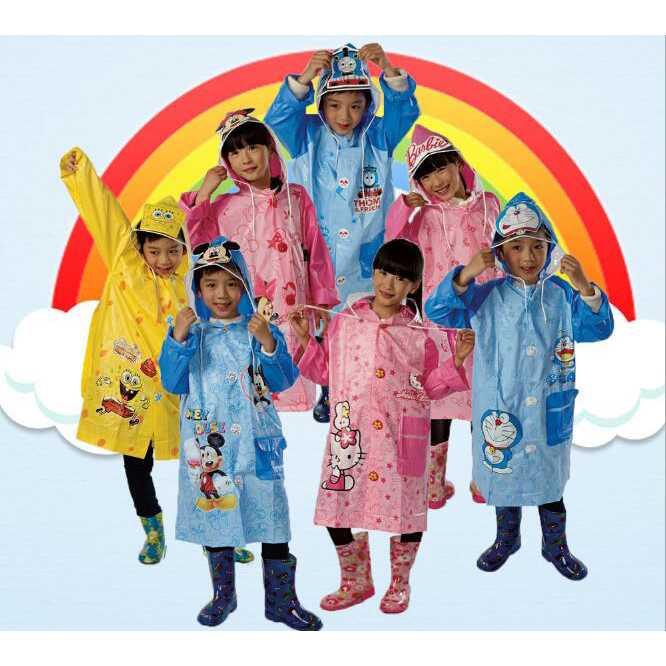 Promo Gratis Diskon Jas Hujan Anak - M - Biru Terbaru dari Tokopedia