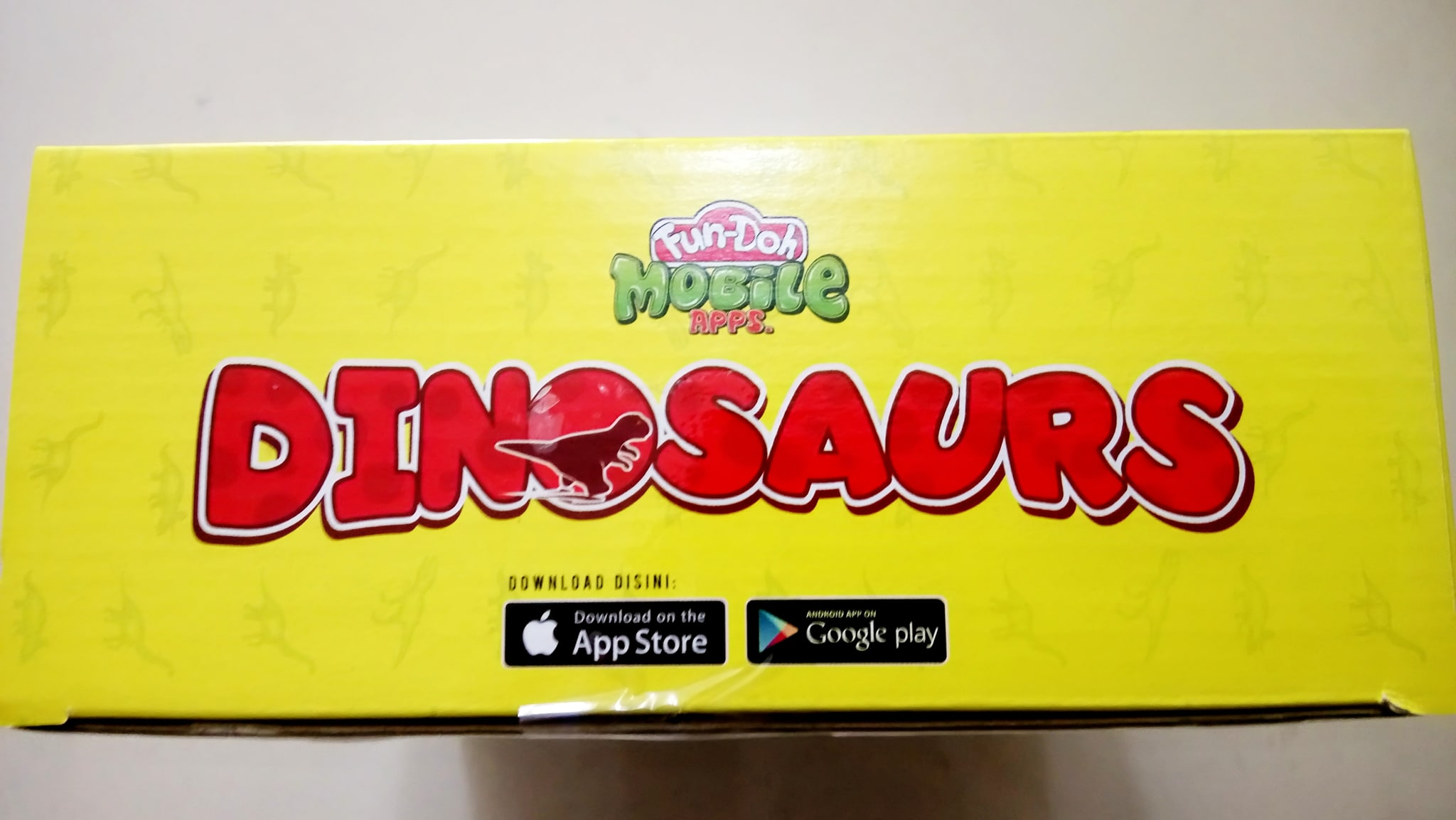 Jual Fun Doh Dinosaurus Mobile Apps Mainan Grill Set Edukasi Anak Blanja
