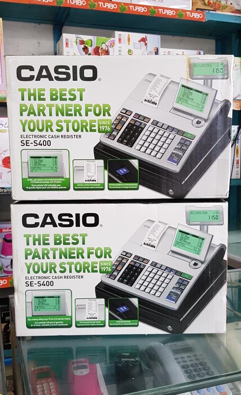 Cash Register Casio Se-S400 / Mesin Kasir - Blanja.com