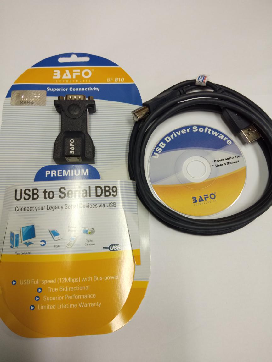 Jual Bafo Kabel Usb To Serial Db9 Cs New Tokopedia Rs232 Original