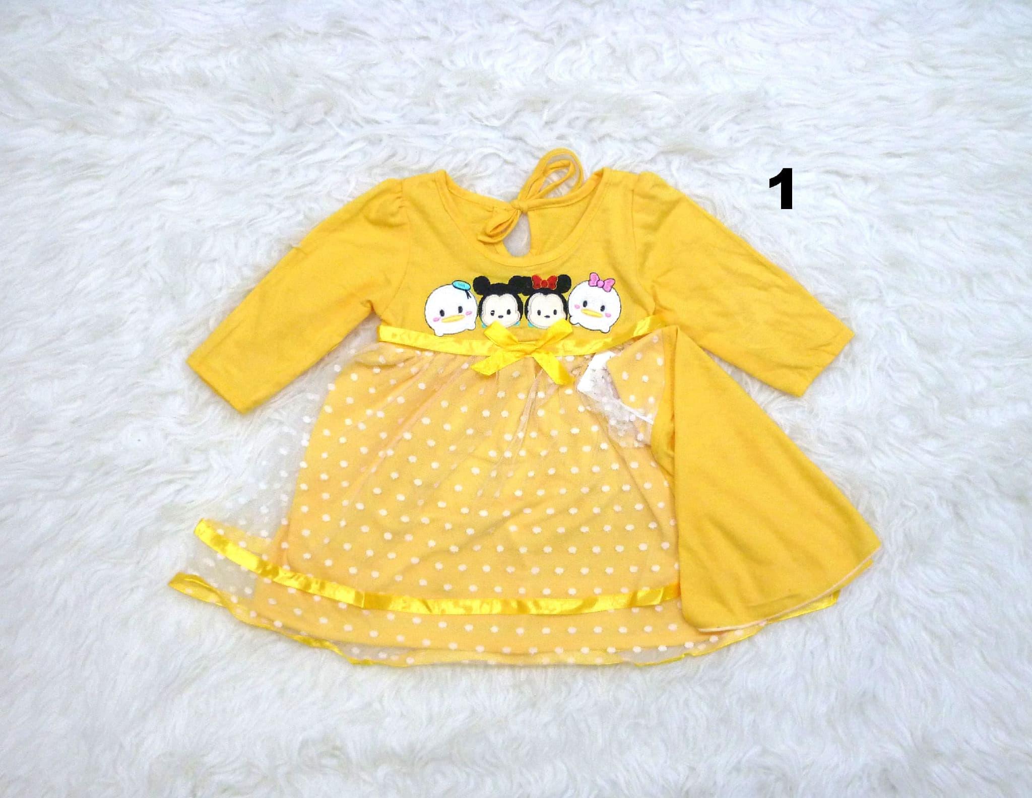 Dress Gamis Baju Anak Bayi Perempuan Cewek Sum2