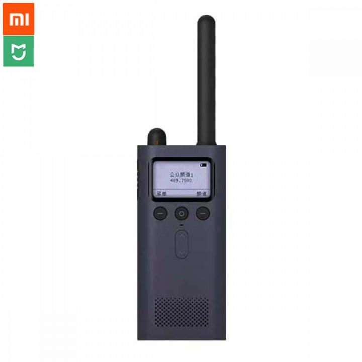 harga Original Xiaomi Bluetooth 4.0 Walkie Talkie With Fm Radio Blue Blanja.com