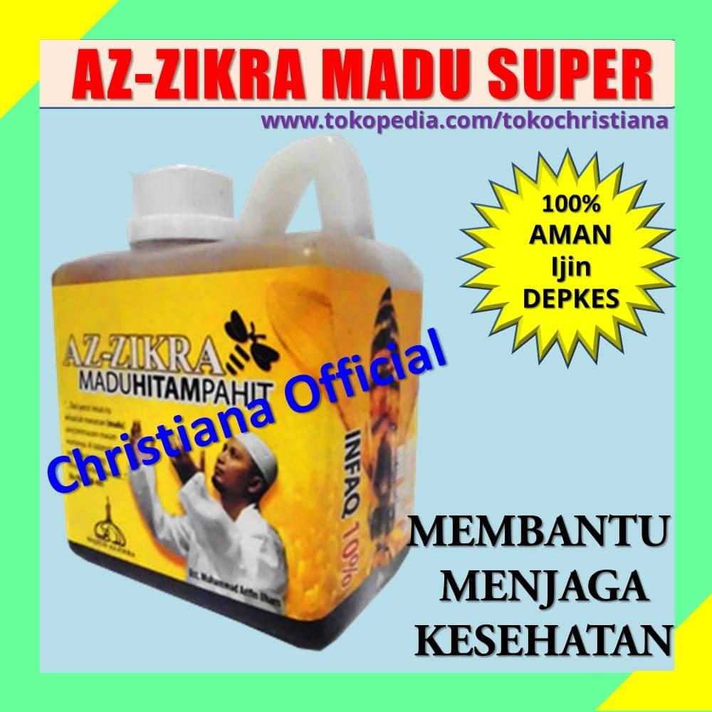 Jual Madu Super Az Zikra Asli Obat Penambah Stamina Aman Ampuh Alami Depkes Christiana Official Tokopedia