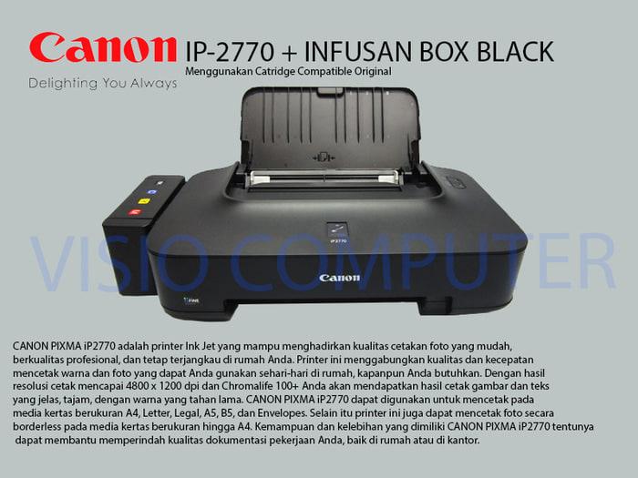 Printer Canon Pixma IP2770 infus Box Compatible Cartridge