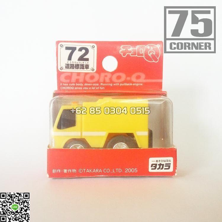 harga Tomica Takara Tomy Choro Q No 72 Road Sign Truck Mitsubishi Canter Truk Pu Jalan Colt Diesel Fighter Blanja.com