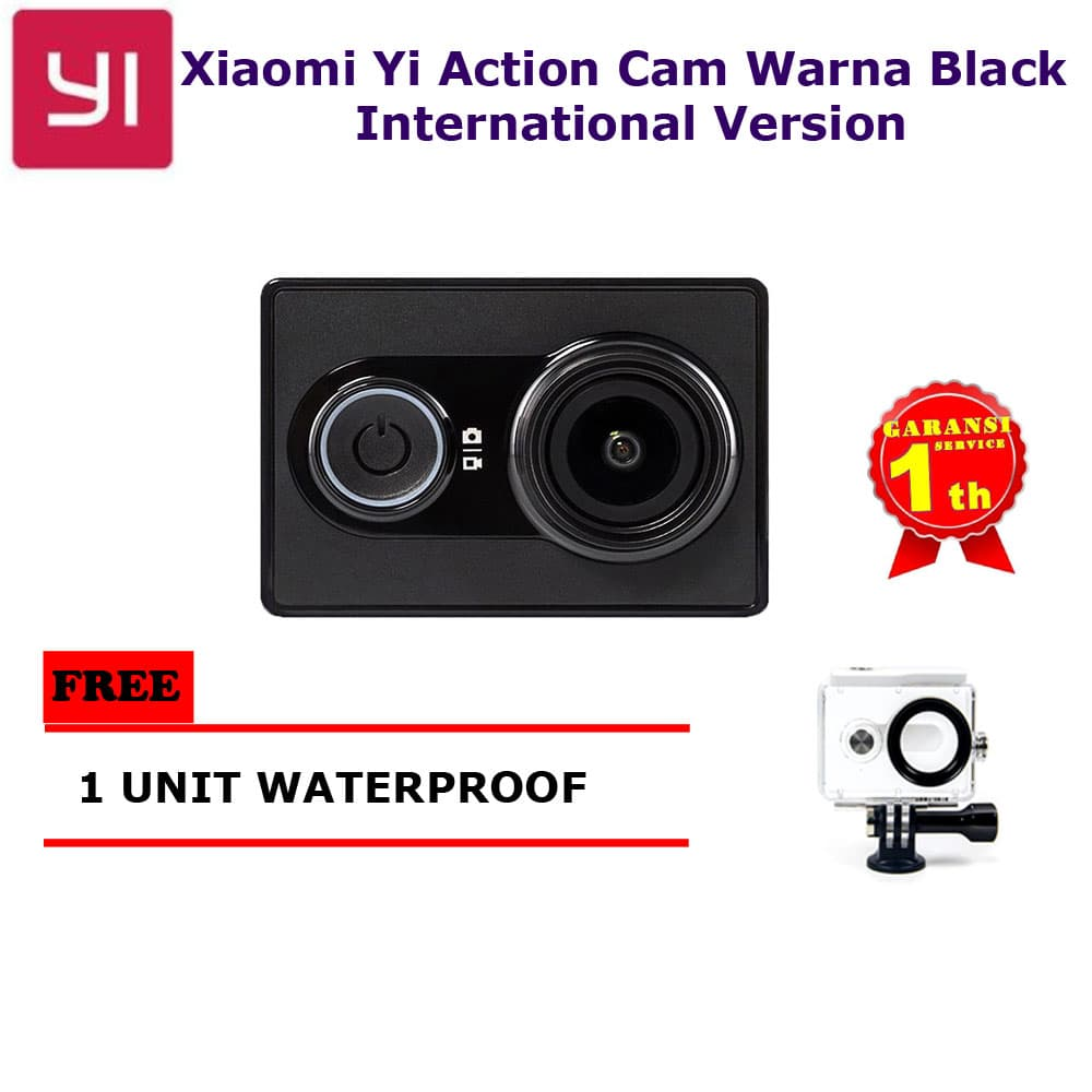 Xiaomi Yi Action Camera - 16 Mp International Edition Black+water Case
