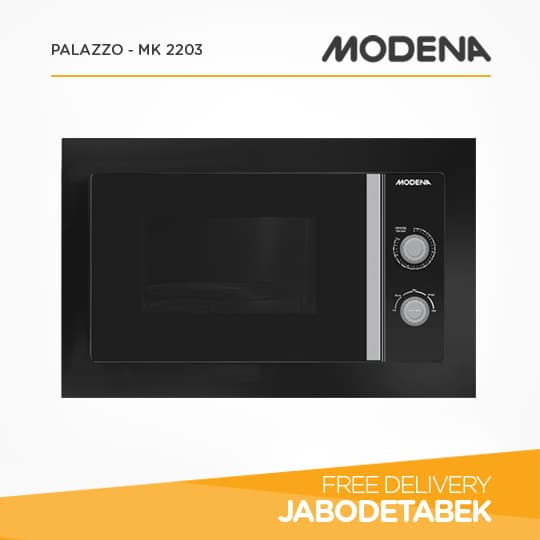 MODENA - Microwave Oven Palazzo - MK 2203 (Black)