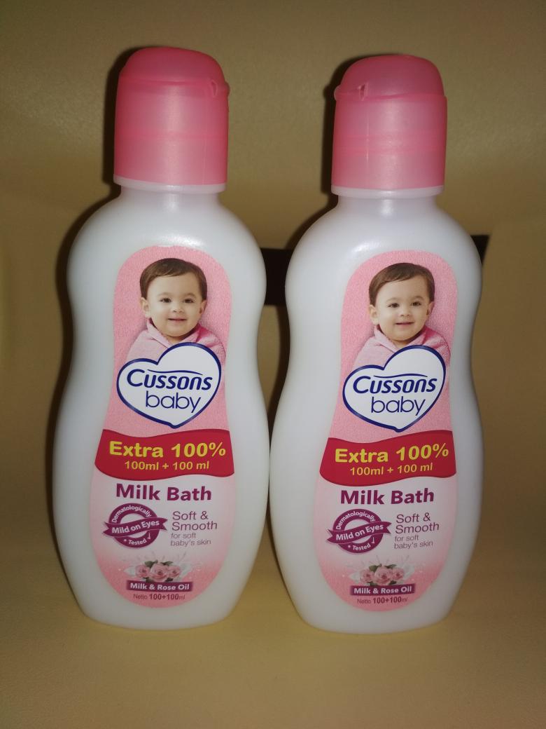 Jual Cussons Baby Milk Bath Soft Smooth 100ml Oil And 100 Sabun Bayi Toko Anak Tokopedia