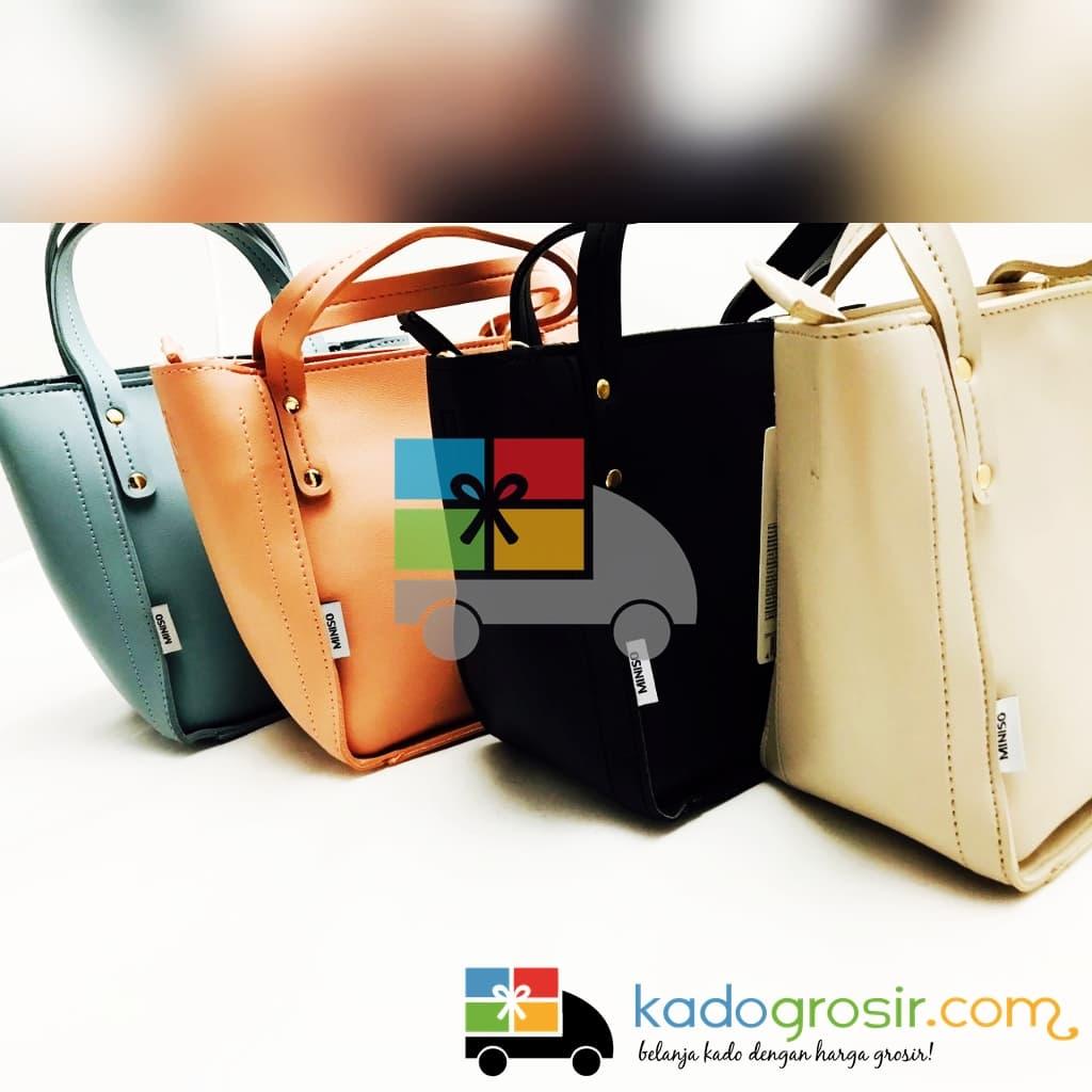 Tas Selempang Import Wanita Korea Handbag Biru Muda Daftar Harga Woman  Hhm309 Womans Solid Color Miniso Obr