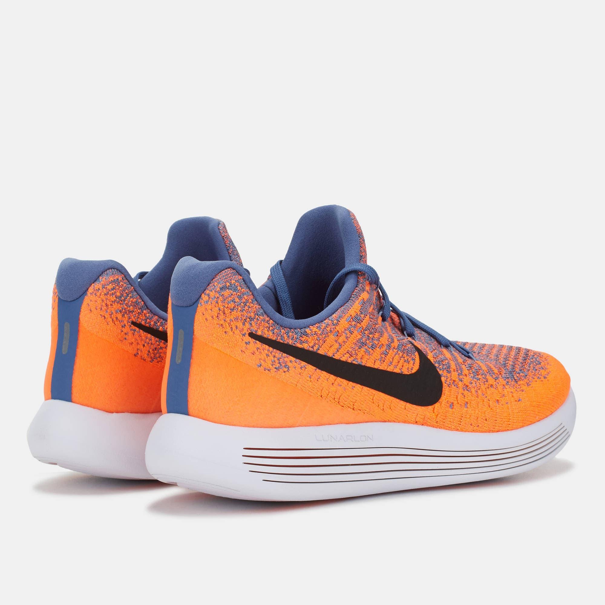 ... Nike Lunarepic Low Flyknit 2 Paramount Blue Black Max Orange -  Blanja.com ... 1c1714e32a