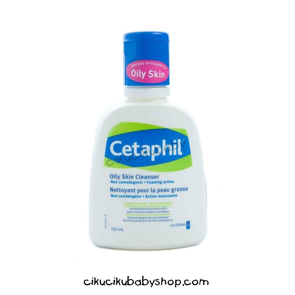 Jual Cetaphil Oily Skin Cleanser 125ml Pembersih Wajah 125 Ml Cikucikubabyshop Bandung Tokopedia