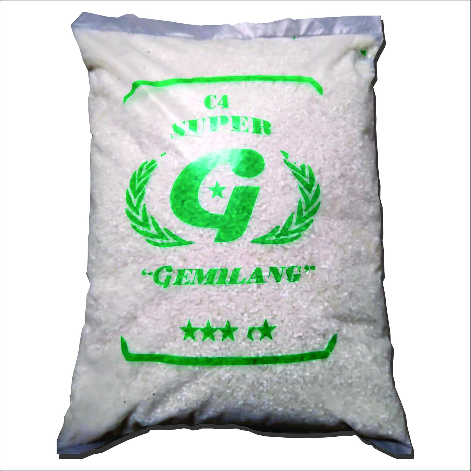 Beras Gemilang C4 Super 2,5kg - Blanja.com
