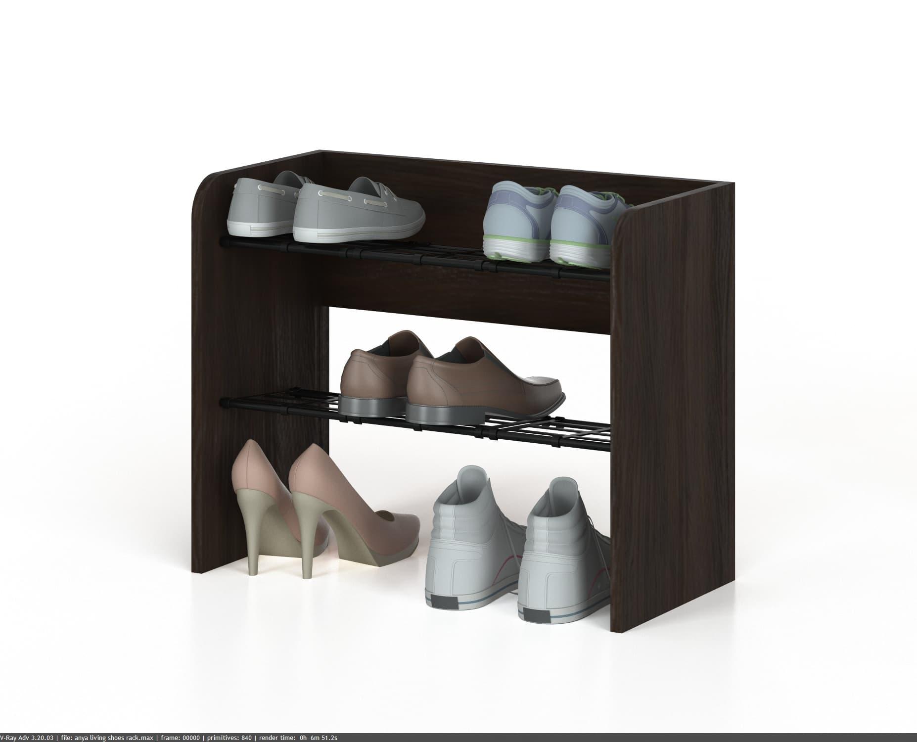 Jual Anya Living Rak Sepatu Tarompa Box Bayi Dan Troli 3 Laci