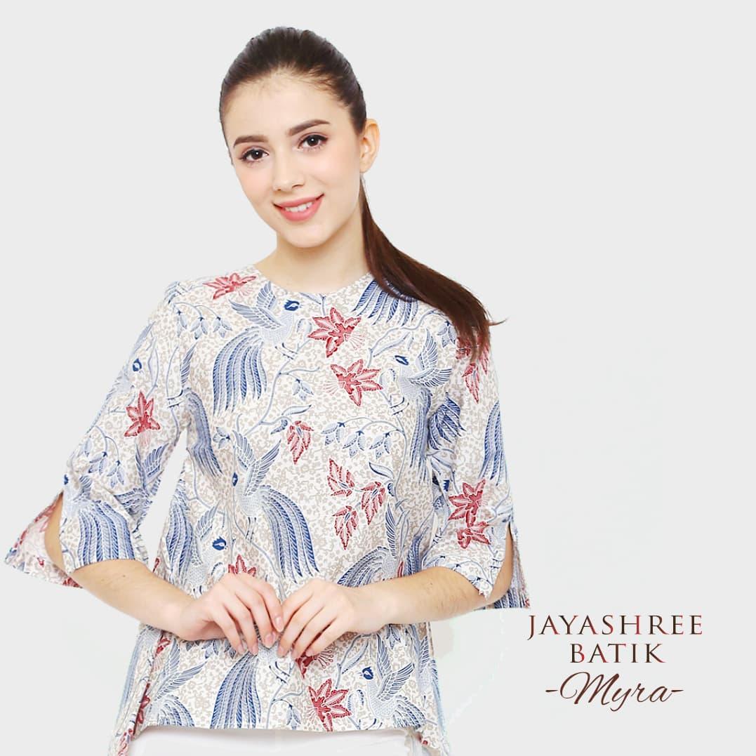 Jayashree Batik Kemeja Slimfit Rama Bw Longsleeve Pria Daftar Rafa Short Sleeve Hitam S Naraya Red Men Source Blouse Myra Wanita