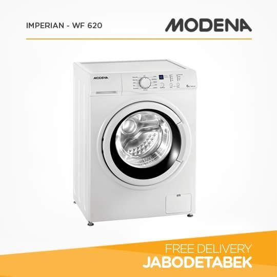 MODENA - Mesin Cuci 6Kg - IMPERIAN - WF 620 (Putih)
