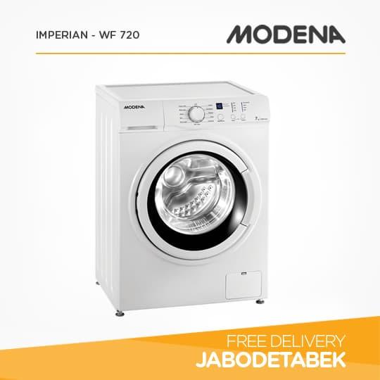 MODENA - Mesin Cuci 7Kg - IMPERIAN WF 720 (Putih)