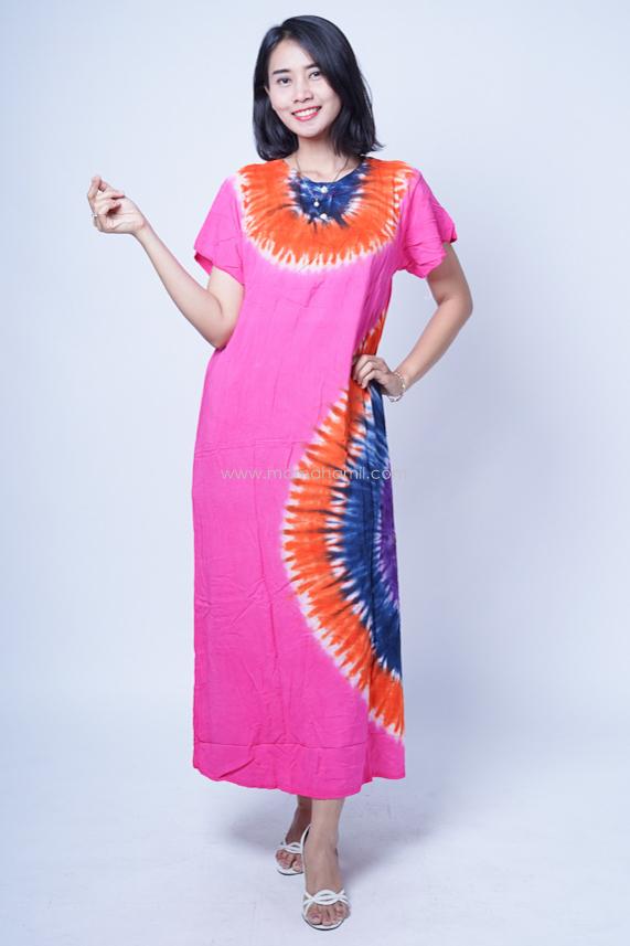 Baju Hamil Daster Gamis Maxy Rainbow Ning Ayu DS 440